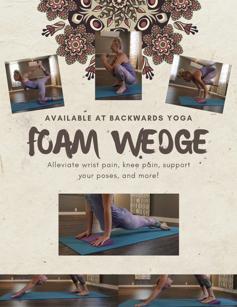 Eliminate Joint Pain with a Foam Wedge